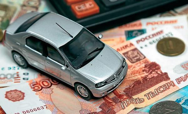 Машинка на деньгах