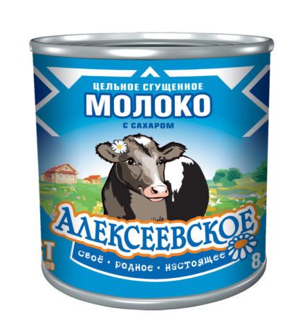"""Сгущенка """"Алексеевское"""""""