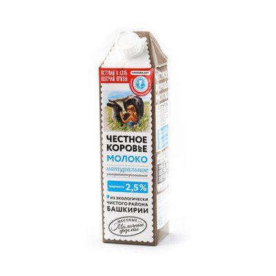 Молоко «Честное коровье молоко»