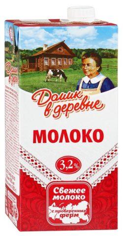 """Молоко """"Домик в деревне"""""""