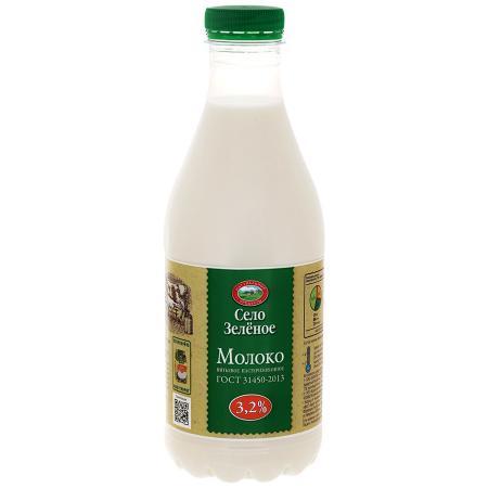 """Молоко """"Село зеленое"""""""