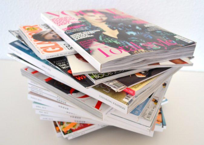 Стопка журналов