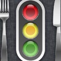 Светофор, вилка и нож