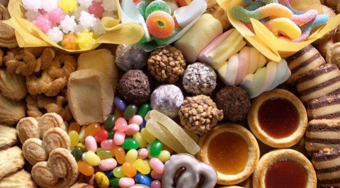 Печенье, конфеты, зефир