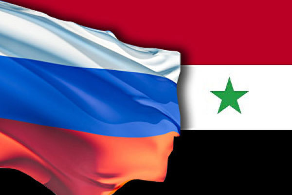 Флаги России и Ирака