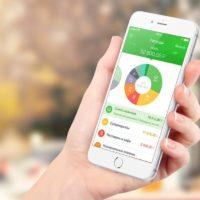 Приложение Сбербанка на смартфоне