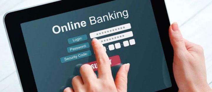 Онлайн банкинг на планшете