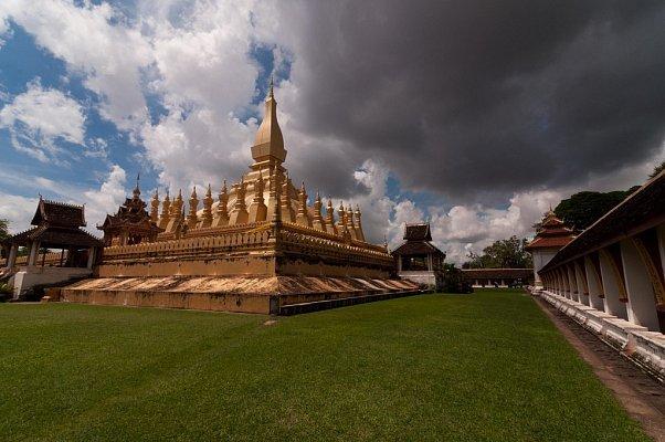 Замок в Лаосе