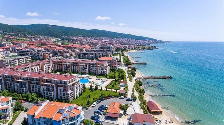 Курортный город в Болгарии