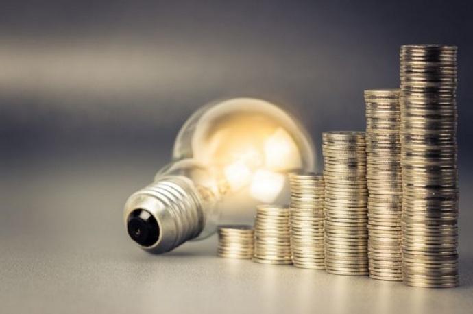 Лампочка возле монет