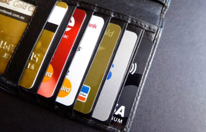 Пластиковые карты в портмоне