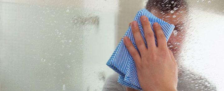 Мытье зеркала