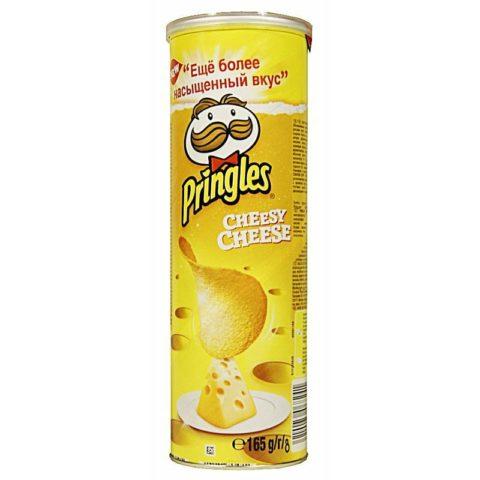 Чипсы Pringles со вкусом сыра