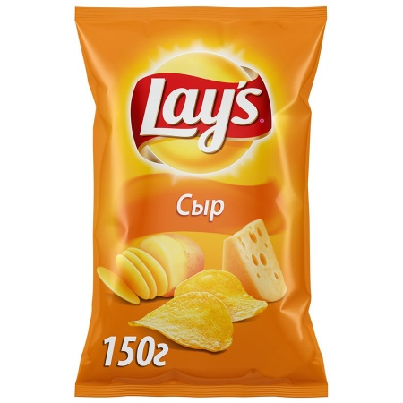 Чипсы Lay's со вкусом сыра