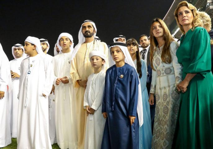 Дети шейха