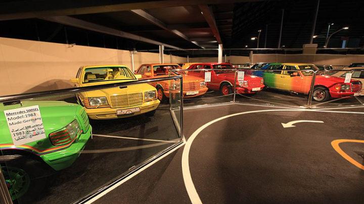 Разноцветная коллекция автомобилей