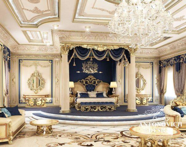 Богатый интерьер
