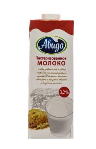 """""""Авида"""" 3,2% пастеризованное"""