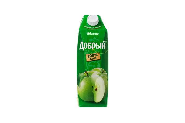 """Яблочный сок """"Добрый"""""""
