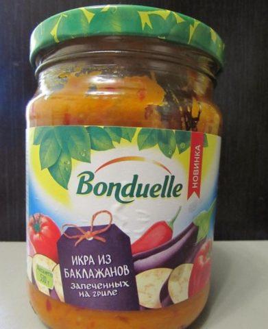 «Bonduelle» баклажанная икра