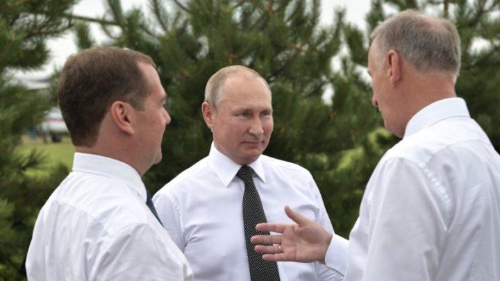 Путин и чиновники