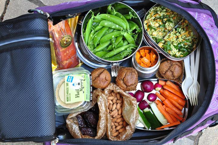 Еда в чемодане