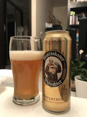 Franziskaner Weissbier пиво
