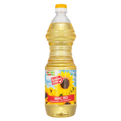 """Красная цена"" подсолнечное масло"