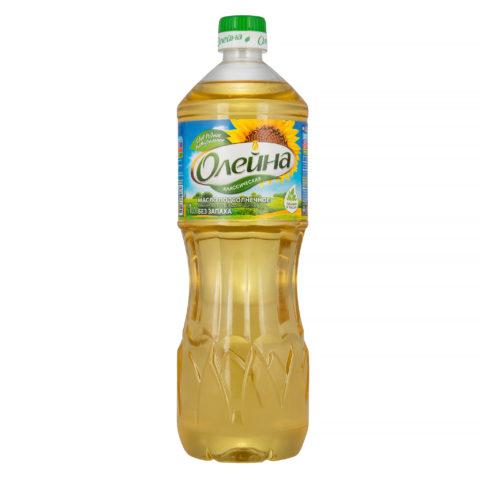 """""""Олейна"""" подсолнечное масло"""