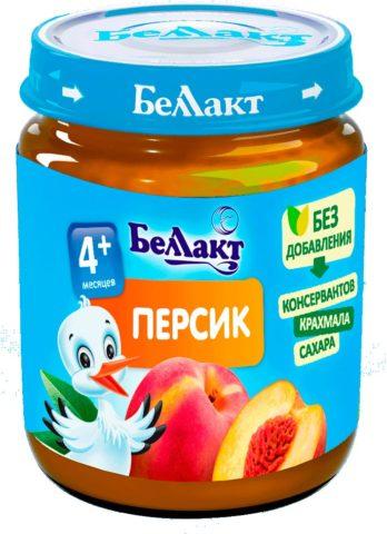 Беллакт фруктовое пюре