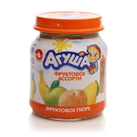 Агуша фруктовое ассорти