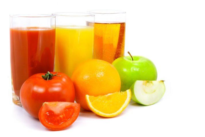 Соки и фрукты
