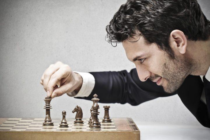 Мужчина и шахматы