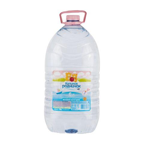 «Калинов родничок» вода