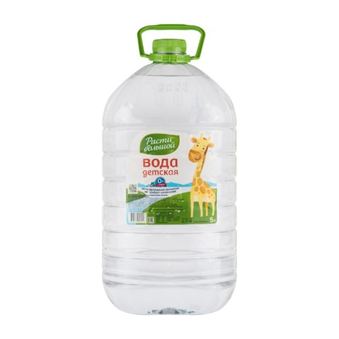 «Расти большой» вода