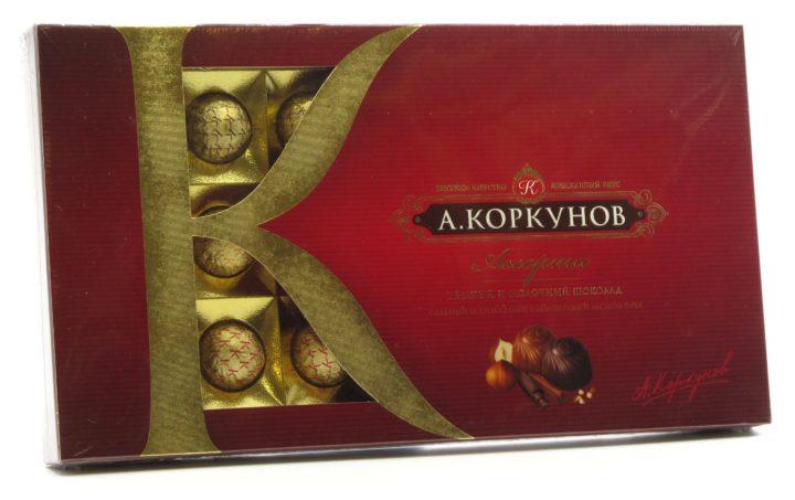 «Коркунов» конфеты