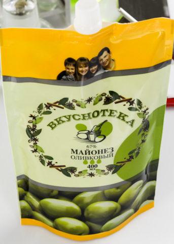 «Вкуснотека» оливковый майонез
