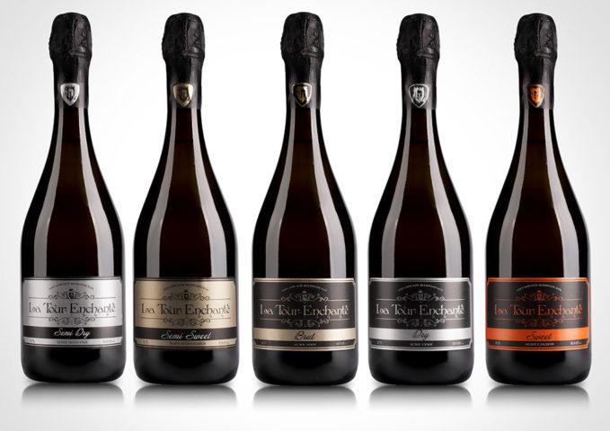ООО Комбинат шампанских вин «Очарованная башня» бутылки