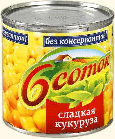 """6 соток"" кукуруза"