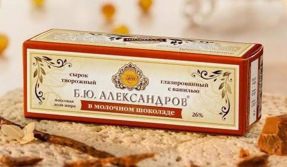 Сырок «Б.Ю.Александров»