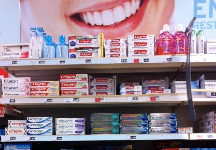 Зубные пасты и улыбка