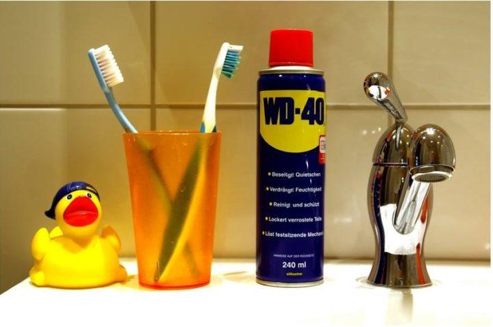 WD-40 в ванной