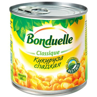 """Bonduelle"" кукуруза"