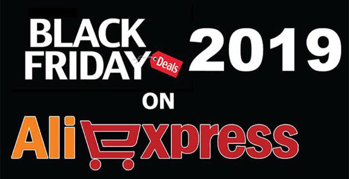 Объявление черной пятницы на Алиэкспресс