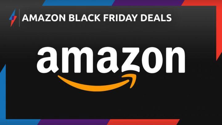 Реклама черной пятницы на Амазоне