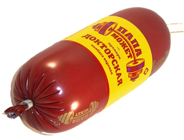 «Папа может» докторская колбаса