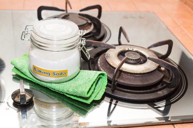 Сода и печка