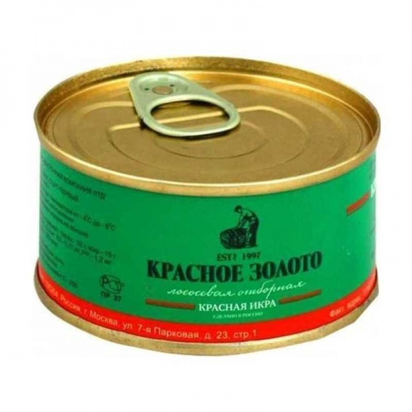 ЗАО «Северовосточная компания ЛТД «Красное золото» икра