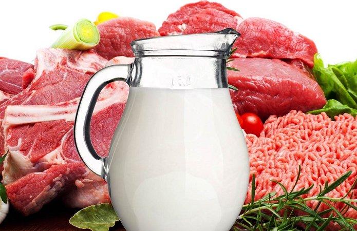 Молоко и мясо