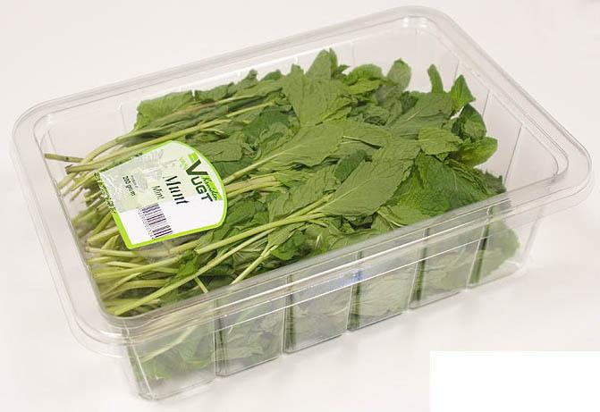 Зелень в упаковке